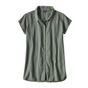 Patagonia Lightweight A/C Womens Shirt, Hemlock Green, medium