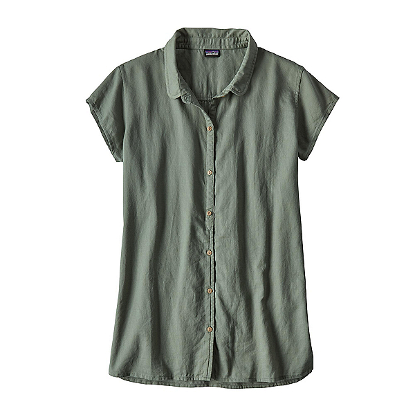 Patagonia Lightweight A/C Womens Shirt, Hemlock Green, 600