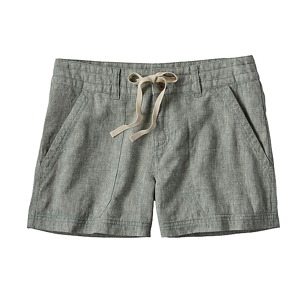 Patagonia Island Hemp Womens Shorts, Hemlock Green, 600