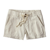 Patagonia Island Hemp Womens Shorts, Stone, medium