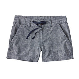 Patagonia Island Hemp Womens Shorts, Navy Blue, 256