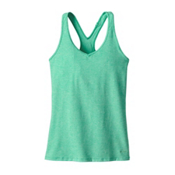 Patagonia Fleur Womens Tank Top, Galah Green, medium