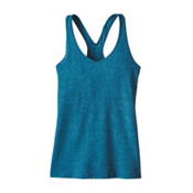 Patagonia Fleur Womens Tank Top, Big Sur Blue, medium