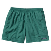 Patagonia Baggies 5in Mens Hybrid Shorts, Gem Green, medium