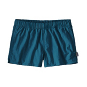 Patagonia Barely Baggies Womens Hybrid Shorts, Big Sur Blue, medium