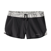 Patagonia Nine Trails Womens Shorts, Black, medium