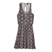 Patagonia West Ashley Dress, Ikat Fish Small-Ink Black, medium
