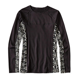 Patagonia Micro Swell Womens Rash Guard, Black, 256