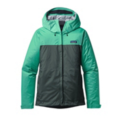 Patagonia Torrentshell Womens Jacket, Galah Green-Nouveau Green, medium