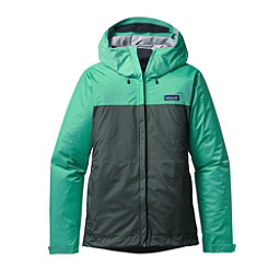 Patagonia Torrentshell Womens Jacket, Galah Green-Nouveau Green, 256