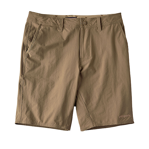 Patagonia Stretch Wavefarer Walk Mens Shorts, Ash Tan, 600