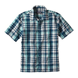 Patagonia Puckerware Mens Shirt, Big Sur Blue, 256