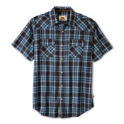 Dakota Grizzly Max Mens Shirt, Smoke, medium