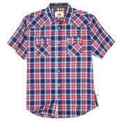 Dakota Grizzly Max Mens Shirt, Garnet, medium