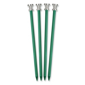 Stansport 9in Aluminum Tent Peg 2017, Green, medium
