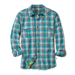 Dakota Grizzly Corky Mens Shirt, Rain, 256