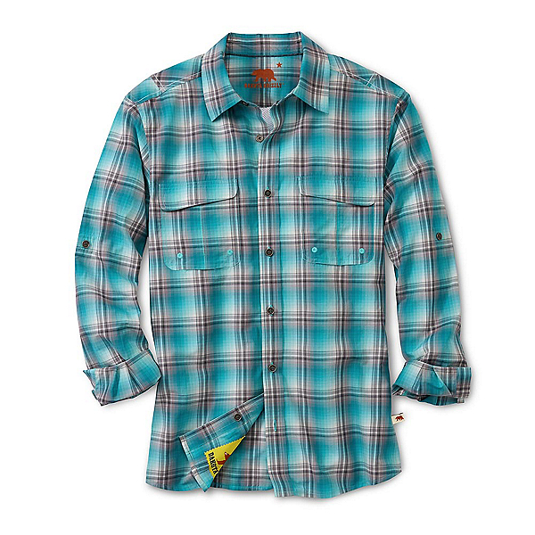 Dakota Grizzly Corky Mens Shirt, Rain, 600