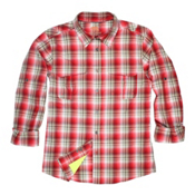 Dakota Grizzly Corky Mens Shirt, Fire, medium