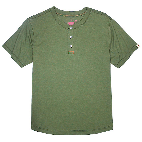 Dakota Grizzly Ladd Mens Shirt, Peridot, 600