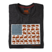Dakota Grizzly Stars & Bears Mens T-Shirt, , medium
