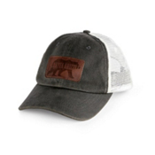 Dakota Grizzly Trucker Hat, Tarmac, medium