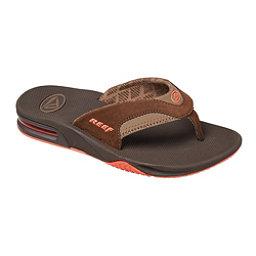 Reef Fanning Lux Womens Flip Flops, Brown, 256