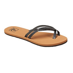 Reef Ocontrare LX Womens Flip Flops, Black, 256