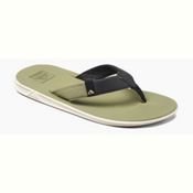 Reef Slammed Rover Mens Flip Flops, Dried Herb, medium
