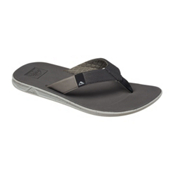 Reef Slammed Rover Mens Flip Flops, Grey, medium
