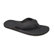 Reef Machado Day Mens Flip Flops, Black, medium
