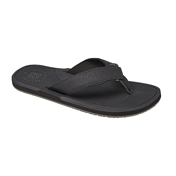 Reef Machado Day Mens Flip Flops, Black, 600