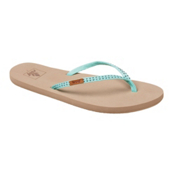 Reef Slim Ginger Stud Womens Flip Flops, Mint, medium