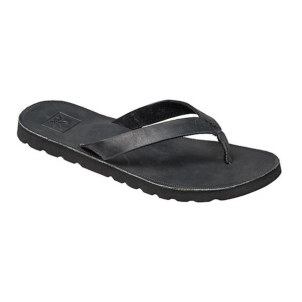 Reef Voyage LE Womens Flip Flops, Black, 600