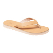 Reef Voyage LE Womens Flip Flops, Natural, medium