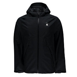 Spyder Pryme Shell Mens Jacket (Previous Season), Black-Black, 256