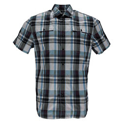 Spyder Crucial Mens Shirt, French Blue Plaid, 256