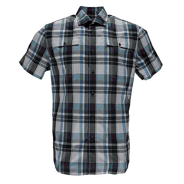 Spyder Crucial Mens Shirt (Previous Season), French Blue Plaid, 600