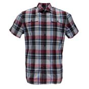 Spyder Crucial Mens Shirt, Red Plaid, medium