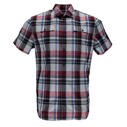 Spyder Crucial Mens Shirt, Red Plaid, 256