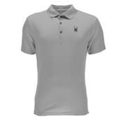 Spyder Alps Tech Polo Mens Shirt, Cirrus, medium