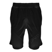 Spyder Davos Mens Hybrid Shorts, Black, medium
