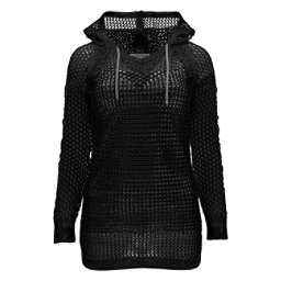 Spyder Lyra Womens Hoodie (Previous Season), Black-Image Grey, 256