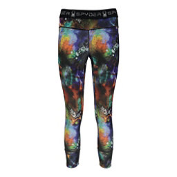 Spyder Slash Capri Womens Pants (Previous Season), Tye Dye Print, 256
