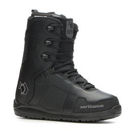 Northwave Supra Snowboard Boots 2017, Black Black, 256