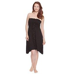 Dotti Beachside Beauty Smocked Bathing Suit Cover Up, Black, 256