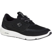 Sperry 7 Seas Boat Mens Shoes, Black, medium