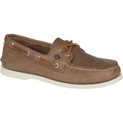Sperry A/O 2-Eye Perforated Mens Shoes, Tan, medium
