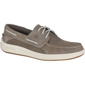 Sperry Gamefish 3-Eye Mens Shoes, Grey, medium