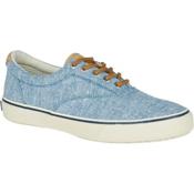 Sperry Striper LL CVO Linen Mens Shoes, Blue, medium