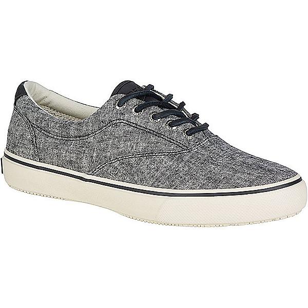 Sperry Striper LL CVO Linen Mens Shoes, Black, 600